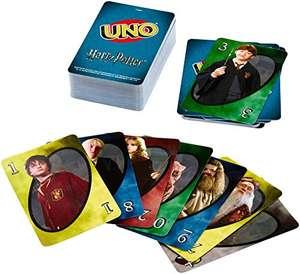Harry Potter Uno Cards Game £5.99 (+£4.99 Non-Prime) Delivered @ Amazon