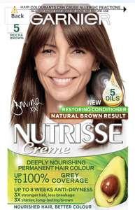 Garnier Nutrisse Hair Dye Permanent - £4.50 /£2.92 S&S (+£4.49 non prime) @ Amazon
