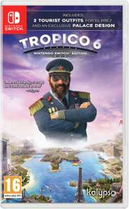 Tropico 6 Nintendo Switch £21.99 + £3.95 Delivery @ Argos