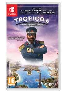 Tropico 6 Nintendo Switch £19.99 prime (+£2.99 non prime) @ Amazon