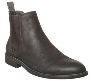 Bruno Leather Chelsea Boots by Office Brown or Black Waxy Suede - £28.99 delivered at Office Shoes