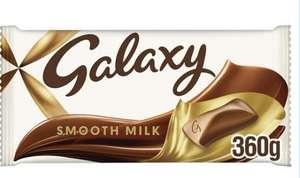 Galaxy Chocolate 360g Bar £2 at Spar Annan