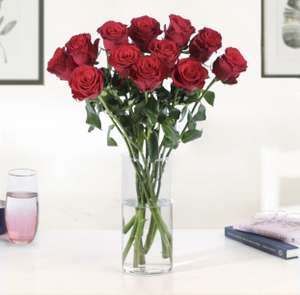 12 Red Roses - £13.99 delivered (using code) @ Moonpig