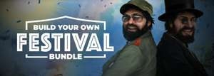 Build Your Own Festival Bundle (Steam PC : Sherlock Holmes/ Tropico 5/ Cat Quest/ Sudden Strike and more) 89p Onwards @ Fanatical