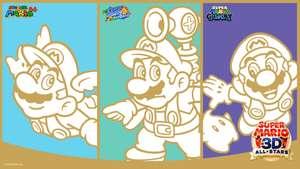 My Nintendo Super Mario 3D All-Stars Wallpaper Freebie