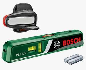 BOSCH PLL 1 P Laser Spirit Level (Wall mount) £19 + £4.99 Non prime @ Amazon