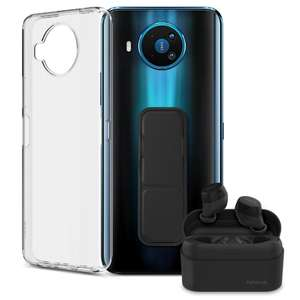 Nokia 8.3 5G Smartphone + Free Nokia Power Earbuds, A Nokia Clear Case And Grip - £299.99 Delivered @ Nokia Shop
