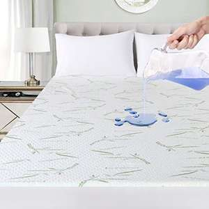 Utopia Bedding Premium Bamboo Mattress Protector Single - £14.99 Prime / +£4.49 non Prime Sold by Utopia Deals Europe & Fulfilled by Amazon