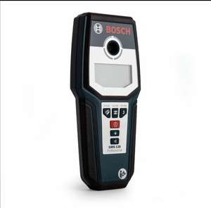 BoschGMS120 (0601081000) Multi Material, Stud, Cable, Wire, Metal, Copper Detector £84 at Toolstop