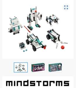 FREE LEGO Mindstorms exclusive Mini Robots set 40413 (GWP with select sets) with qualifying online orders at Lego Shop