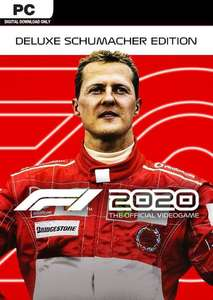 F1 2020 Deluxe Schumacher Edition PC £14.99 at CDKeys