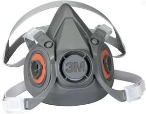 3M type 6000 half Facemask £11.96 + £4.99 delivery @ Zoro