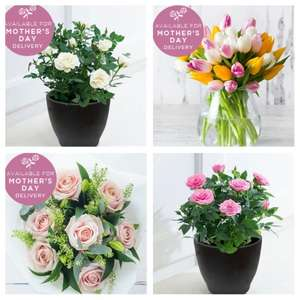 £10 Off Mother's Day Flowers - Plants £9.99 / Bouquets £19.99 With Code - March 14th Courier Delivery £5.99 @ Appleyard