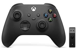 Xbox Wireless Controller + Wireless Adapter for Windows (Xbox Series X/S) - £54.99 at Amazon EU
