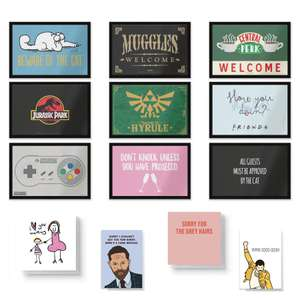 Lots of Door Mats 40% off at Basket + Free Standard Mother's Day Card Using Code - £10.78 Delivered @ IWOOT