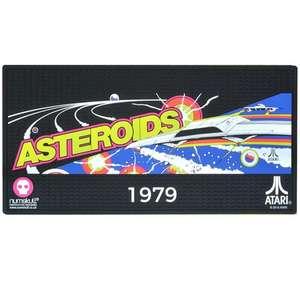 Asteroids Doormat / Floor Mat - Non-slip Rubber Design £7.98 Delivered @ Just Geek
