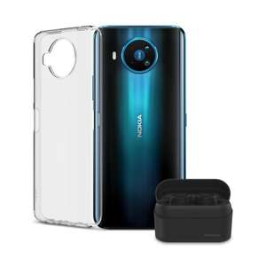 Clear Case and Nokia Power Earbuds bundle Nokia 8.3 5G + 2 accessories £299 @ Nokia