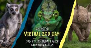 LIVE Chester Zoo Virtual Tour- 5th March