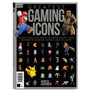 Greatest Gaming Icons (2nd Edition) £7.99 delivered with code at Magazines Direct