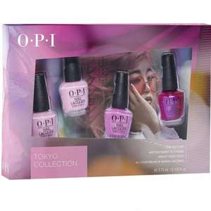 OPI Tokyo 2019 Nail Polish Collection - Mini 4-Pack (DC T50) £4.95 at Nail Polish Direct