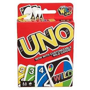 Uno Card Game - £3.49 (+£4.49 Non-Prime) - Sold by Dadybros / FBA @ Amazon