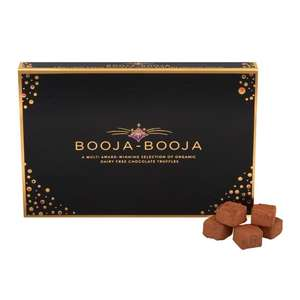 Booja Booja vegan chocolate truffles selection box - £8.94 delivered at RSPB shop