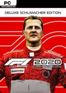 F1 2020 DELUXE SCHUMACHER EDITION PC £12.99 at CDKeys