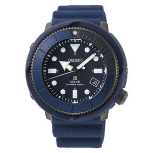 Seiko Prospex Solar Street Series Blue Divers Watch SNE533P1 £198 with code @ James Porter & Son