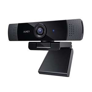AUKEY Webcam 1080P Full HD with Stereo Microphone Web Camera, £27.90 @ Sold by AUKEY Innovate EU and Fulfilled by Amazon.