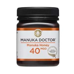 Manuka Honey 40 MGO 250g - £7 + £5 Deelivery @ Manuka Doctor