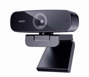 AUKEY Webcam 1080p Full HD - £16.49 @ Sold by AUKEY Innovate EU and Fulfilled by Amazon.
