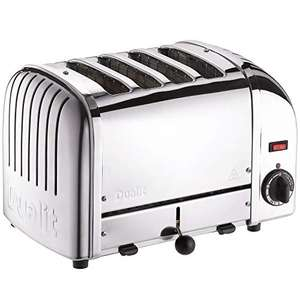 Dualit Classic 4 Slice Vario Toaster - Stainless Steel - £119.15 @ Amazon