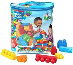 Mega Bloks DCH55 Big Building Bag, Blue, 60 Pieces - £6.99 prime / +£4.49 non prime @ Amazon