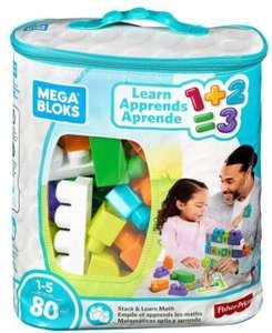 Mega Bloks Stack & Learn Math 80 Piece's - £7.99 (UK Mainland) Delivered @ Bargainmax