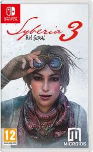 Switch Game: Syberia 3 £8.99 at Nintendo eShop