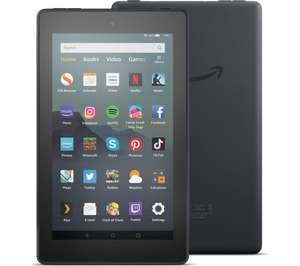 Amazon Fire 7 Tablet 16 GB £29.99 (32GB £39.99) / Amazon Fire HD 8 Tablet 32GB £59.99 with code (various colours) @ Currys PC World