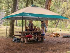 Coleman 13 x 13ft (3.9 x 3.9 m) Instant Eaved Shelter £159.99 delivered @ Costco