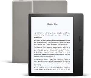 Kindle Oasis   Now with adjustable warm light   Waterproof, 8 GB, Wi-Fi   Graphite - £184.99 @ Amazon