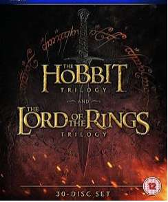 The Hobbit and Lord of the Rings 4K 6-Film Extended Versions for £19.99 @ iTunes Store (Price Error - See Post)