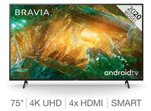 Sony KD75XH8096BU 75 Inch 4K Ultra HD Smart Android TV Costco £999.99 delivered (for costco members)