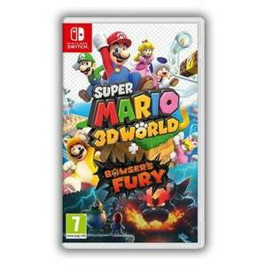 Super Mario 3D World + Bowser's Fury   3D All Stars   Monster Hunter Rise (Switch) £35.99 Each Delivered + 400 Nectar Points @ Shopto/Ebay