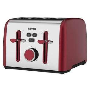 BREVILLE 4 Slice Toaster £19.99 (£3.99 delivery) @ TJ Hughes
