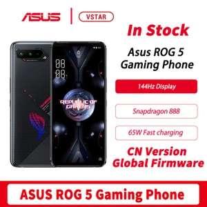 "Asus ROG Phone 5 5G, 6.78"" 144hz AMOLED, Snapdragon 888, Android 11, 6000mAh - £456.27 @ VSTAR TECHNOLOGY INDUSTRY CO LTD / AliExpress"