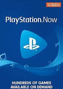 Playstation Now 12 Month Subscription (Digital Purchase PS2 PS3 PS4 Games) £32.99 @ Game