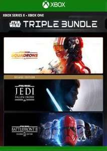 [Xbox One] Star Wars Triple Bundle Inc Squadrons, Fallen Order Deluxe Edition & Battlefront II Celebration Edition - £25.99 @ CDKeys