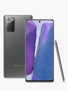 Samsung Galaxy Note 20 5G £619 @ John Lewis & Partners