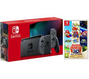 Nintendo Switch Console Grey & Super Mario 3D All-Stars Bundle £299 (+ Minecraft for £10 = £309) @ Currys PC World