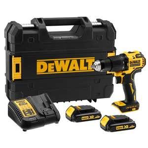DeWalt Compact Brushless Hammer Drill Driver £109.99 @ Jewson