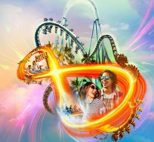 Overnight Stay at Shark Hotel + 2 days tickets + Brekkie + £25 in-park voucher* from £129 for 2 / £195 for 4 @ Thorpe Park Breaks