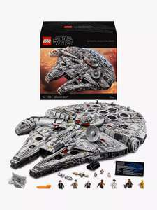 LEGO Star Wars 75192 Ultimate Collector Series Millennium Falcon £609.99 @ John Lewis & Partners